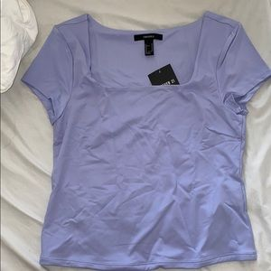 Periwinkle square top